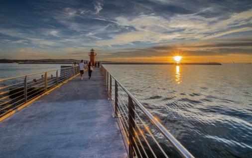 Sunset on the Adriatic Sea