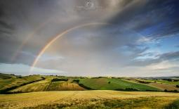 Rainbow on the Hills